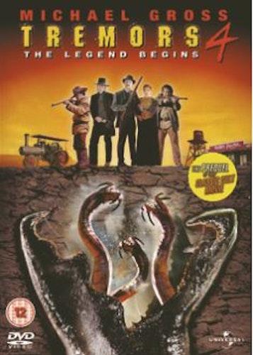 Hotet från underjorden 4/Tremors 4 - The Legend Begins DVD (import)