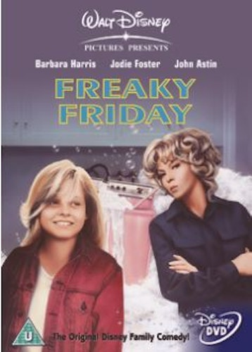 Freaky Friday (1977) DVD (Import Sv.Text)