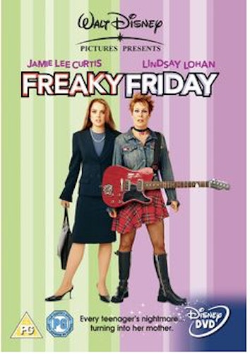 Freaky Friday DVD (Import Sv.Text)