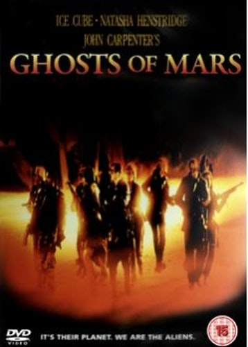 Ghosts of Mars DVD (Import)