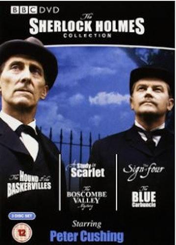 Sherlock Holmes - Peter Cushing Collection 3 disc DVD (import)
