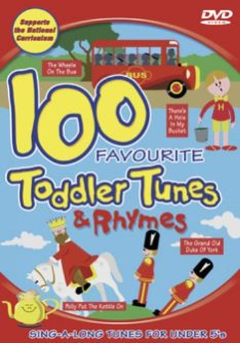 100 Favourite Toddler Tunes And Rhymes DVD (import)
