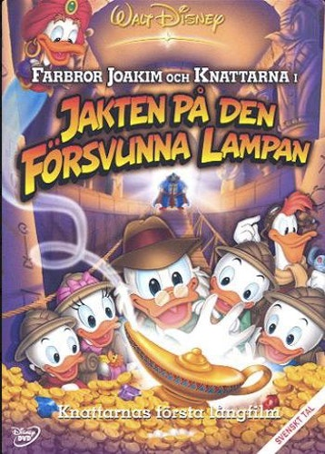 Farbror Joakim och Knattarna - Jakten på den försvunna lampan DVD