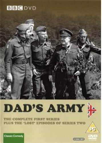 Dad's Army Säsong 1+2 DVD (import)