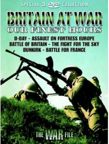 Britain At War - Our Finest Hours DVD (import)