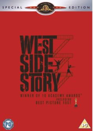 West Side Story DVD (Import Sv.Text)