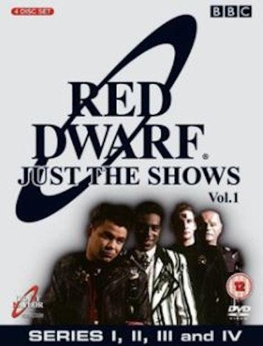 Red Dwarf Säsong 1-4 DVD (import)