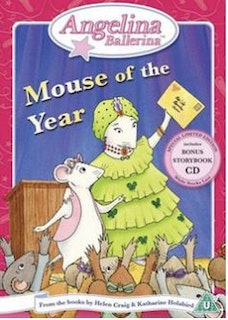 Angelina Ballerina - Mouse Of The Year DVD (import)