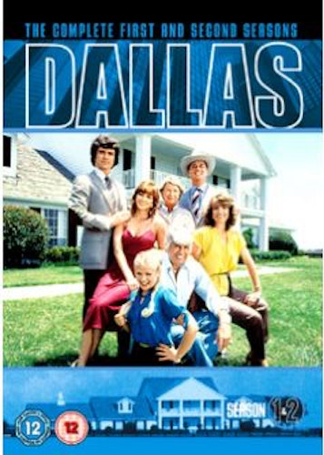 Dallas Säsong 1+2 DVD (import Sv text)