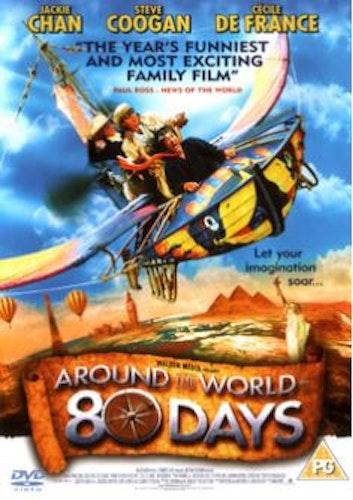 Jorden runt på 80 dagar (2004) DVD (Import)