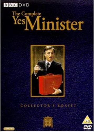 Yes minister - Säsong 1-3 Complete (4-disc) DVD (Import)