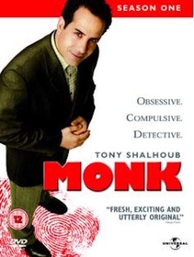 Monk - Säsong 1 (4-disc) DVD (Import)