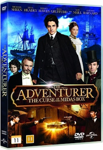 The Adventurer: The Curse of the Midax Box DVD UTGÅENDE