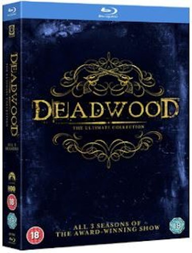 Deadwood Säsong 1-3 Complete Collection bluray (import Sv text)