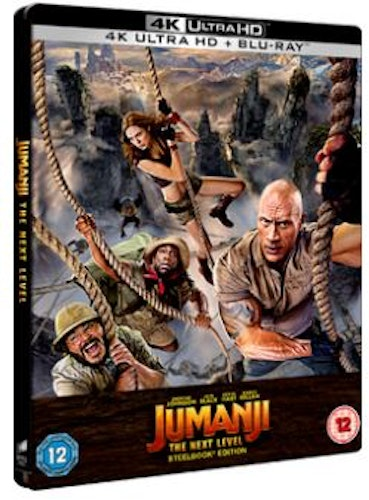 Jumanji - The Next Level Steelbook 4K Ultra HD + Blu-Ray (import)