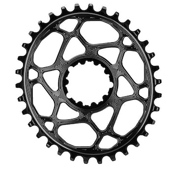 Absolute Black OVAL BOOST N/W CHAINRING FOR SRAM 3MM OFFSET