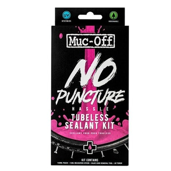 MUC-OFF No Puncture Hassle Tubeless Sealant Kit 140 ml