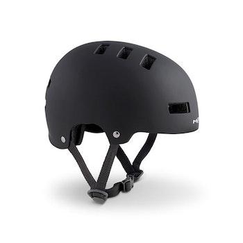 MET Helmet Youth YoYo S (51-55 cm) Black/Matt