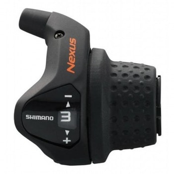 Shimano shifter right Nexus 3S 1700 mm black