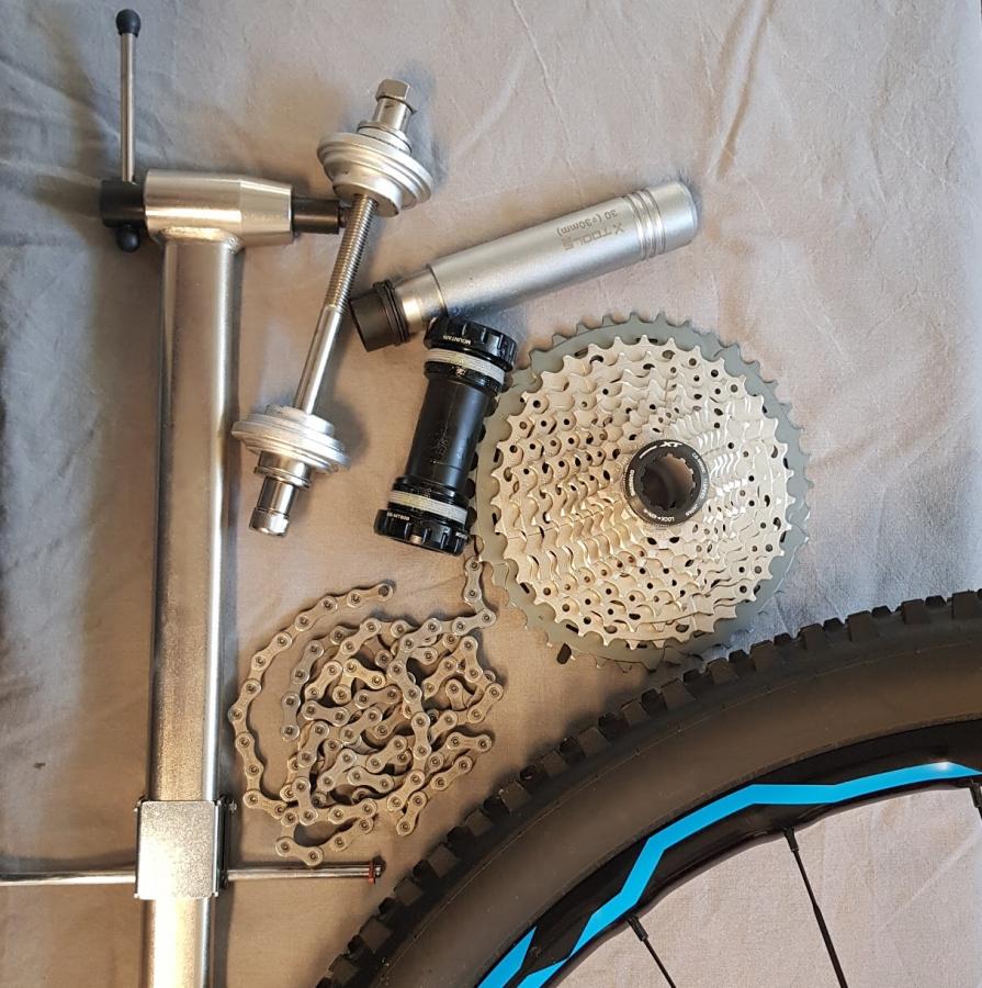 Dan's cykel o skid