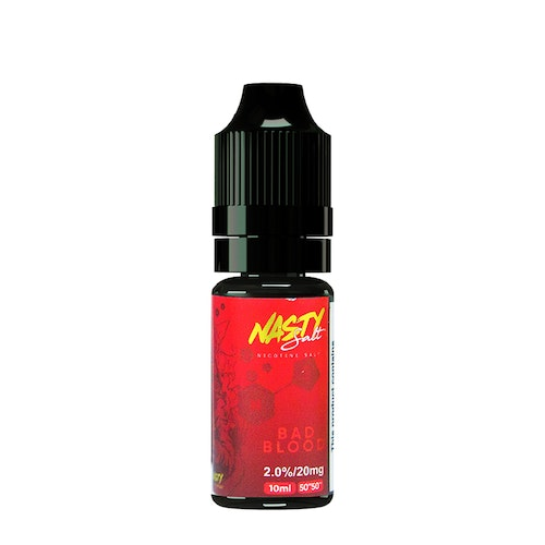Nasty Juice - Bad Blood (10ml, 20mg Nic Salt)