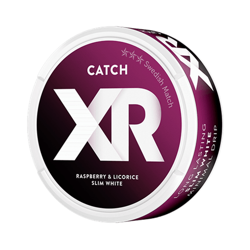 XR Catch Hallon Lakrits White Portionssnus