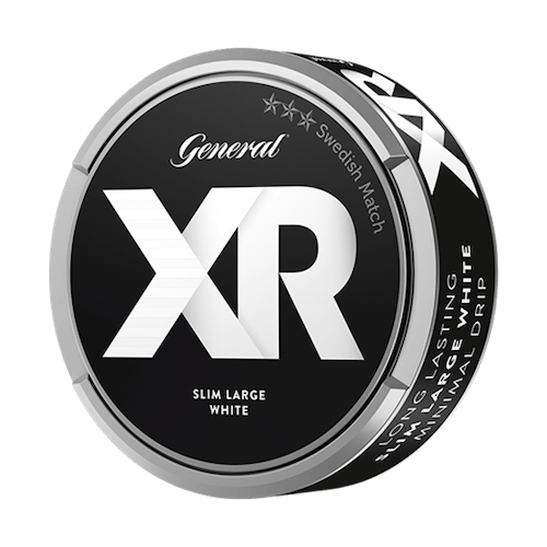 XR General Slim White Portionssnus