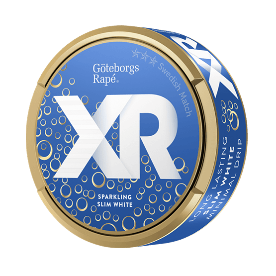 XR Göteborgs Rapé Sparkling Slim White Portionssnus