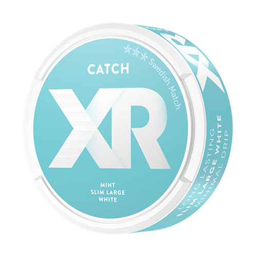 XR Catch Mint Slim White portionssnus