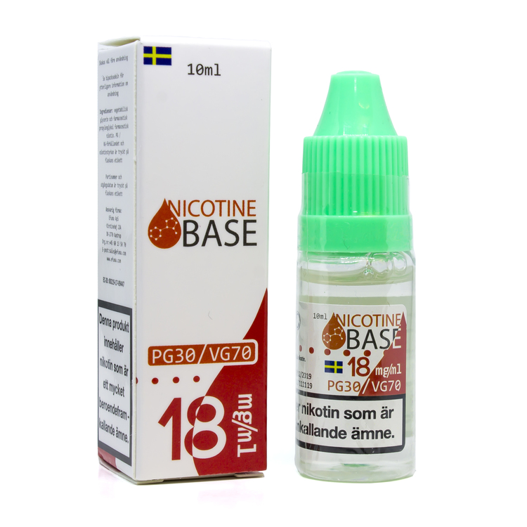 Nicotine Base - Nicotine Shot 18mg
