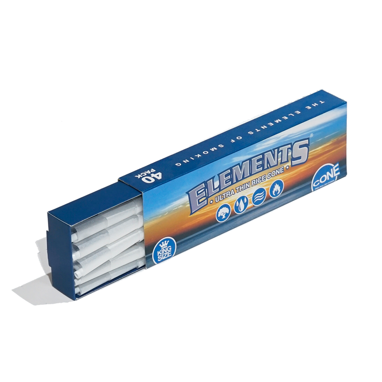 Elements King Size Cones (40st)