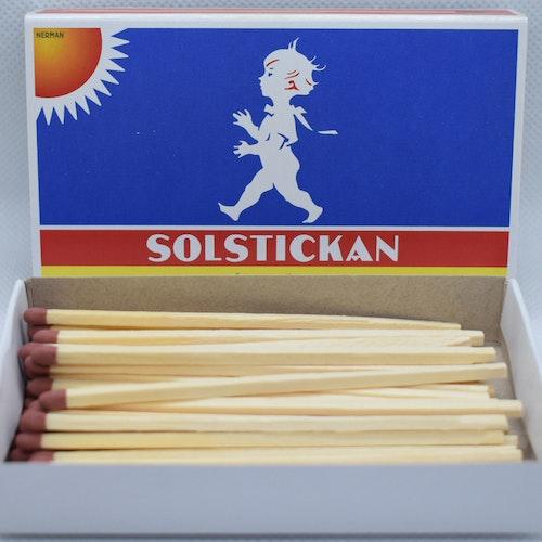 Solstickan - Tändstickor Hushållsask