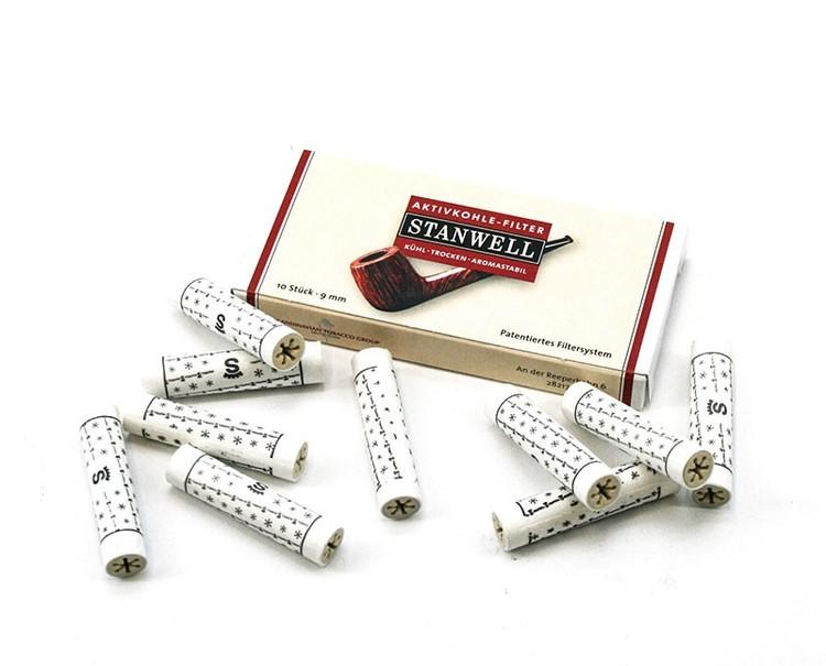 Stanwell Aktivkohlefilter 9mm (10-Pack)