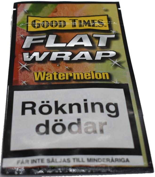 Good times - Flat wrap