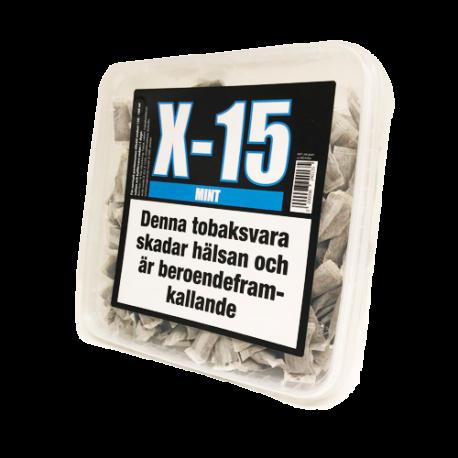 X-15 Mint Portionssnus