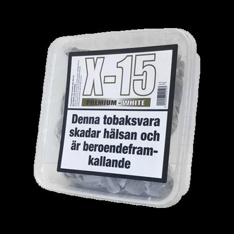 X-15 Premium White Portionssnus