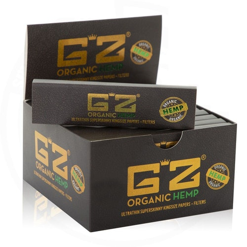 G'Z Organic Hemp Slim + Filter