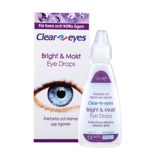 Clear Eyes Bright & Moist 15 ml