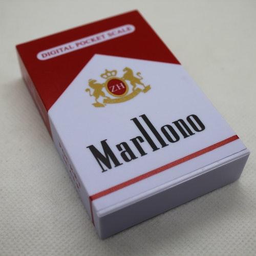 Manlloro Cigarett Paket Digital Våg (0,01-600g)