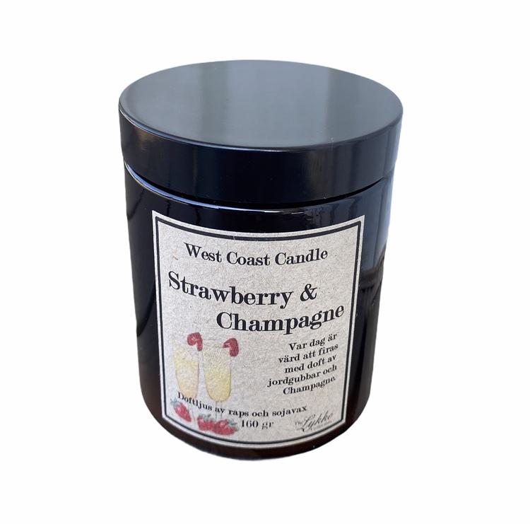 Doftljus Strawberry & Champagne
