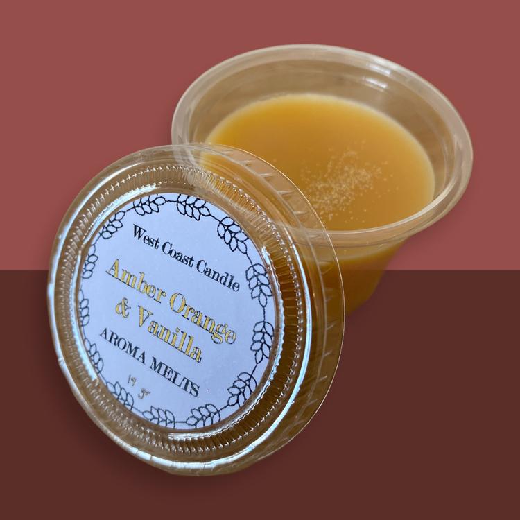 Aroma melts Amber Orange & Vanilla