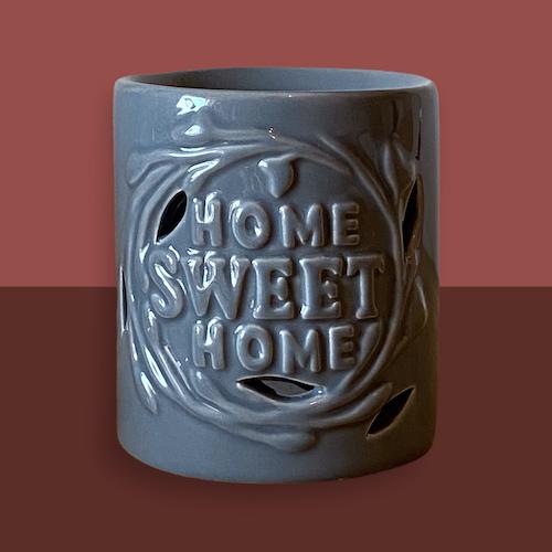 Grå aroma lykta Home Sweet Home