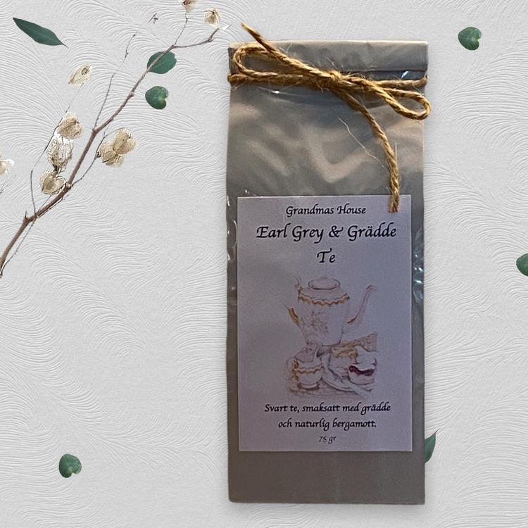 Earl Grey & Grädde te