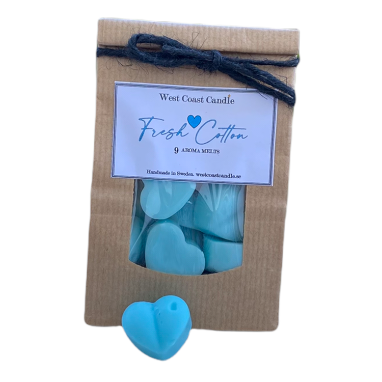 `Fresh Cotton` Aroma hjärtan