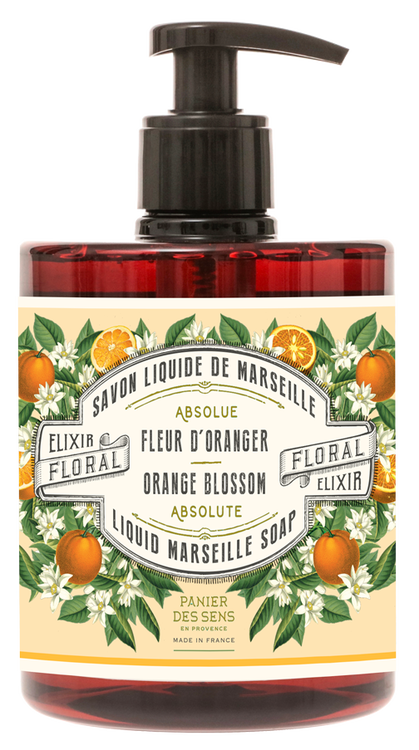 Marseille Handtvål Orange Blossom 500ml