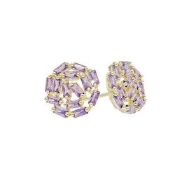 Örhänge Splendour violett