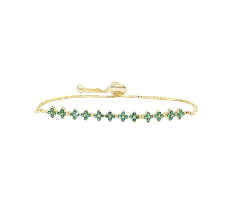 Armband Glimmer grön
