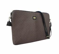 "Laptop väska 15"" svart/brun"