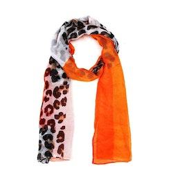Scarf orange leo