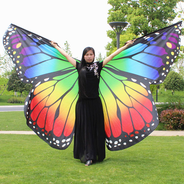 BUTTERFLY WING OMBRE